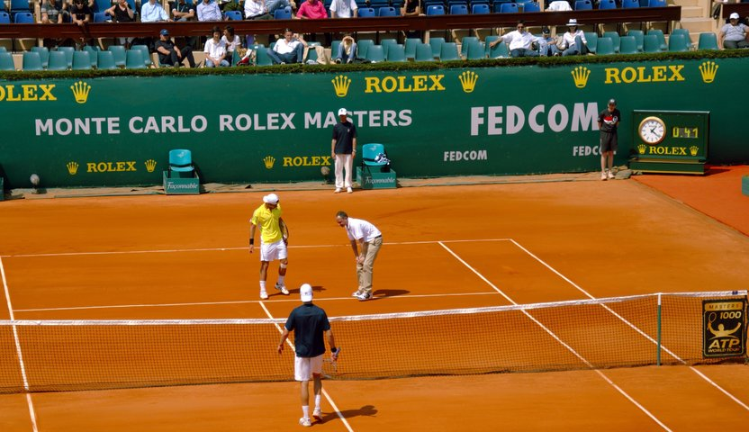 At the Monte-Carlo Rolex Masters